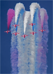 Red Arrows, by Peter Kuxhaus