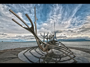 Solfar 'The Sun Voyager', by Dave Bibby