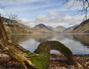Reflections On Wast Water, by David Sykes